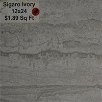 Sigaro Ivory 12x24