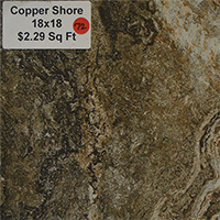 Copper Shore 18x18
