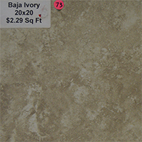 Baja Ivory 20x20