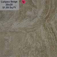 Calipso Beige 20x20