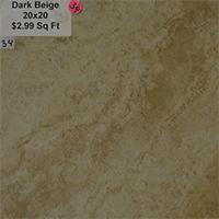 Dark Beige 20x20