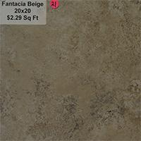 Fantacia Beige 20x20