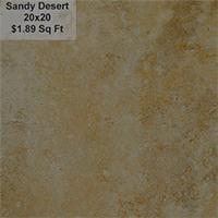 Sandy Desert 20x20
