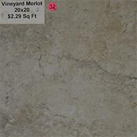 Vineyard Merlot 20x20