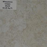 Wheystone Cream 20x20