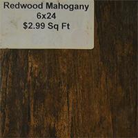 Redwood Mahogany 6x24