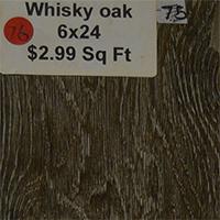 Whisky Oak 6x24